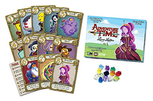 AEG Love Letter Adventure Time Clamshell Card Game ()