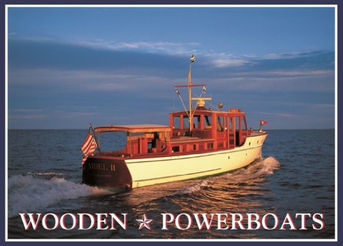 Wooden Powerboats Note Cards