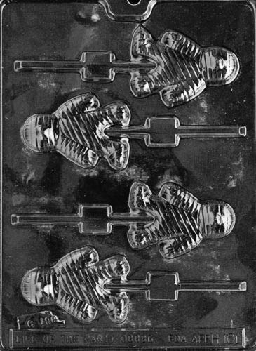 Mummy Lolly POPS Chocolate Candy molds Halloween Cupcake Toppers -