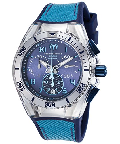 technomarine-womens-cruise-california-tm-115014-stainless-steel-watch-with-interchangeable-blue-case
