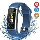 moreFit Waterproof Activity Tracker, Fitness Tracker Color Screen...