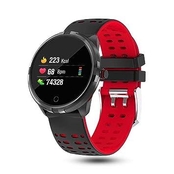 LayOPO Reloj Inteligente Bluetooth, Reloj Inteligente Deportivo con Pantalla Táctil Reloj Smart Fitness con Monitorizador