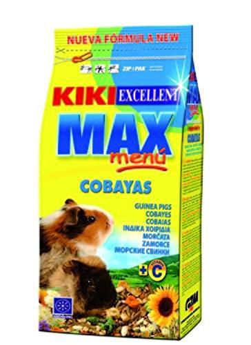 Kiki alimento Max menu cobayas 1 kg Gonzalo zaragoza manresa s.l