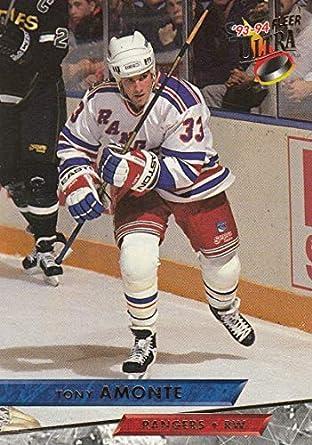 Amazon.com  Hockey NHL 1993-94 Ultra  202 Tony Amonte  202 NM NY ... a937d9c6b