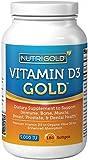 Vitamin D3 5000 IU, 180 Mini Softgels (GMO-free, Preservative-free, Soy-free, USP Grade Natural Vitamin D in Organic Olive Oil)