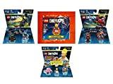 Supergirl Exclusive Polybag + The Simpsons Homer Simpson Level Pack + The Wizard Of Oz + Ninjago Nya Fun Packs D.C. Comics - LEGO Dimensions - Not Machine Specific
