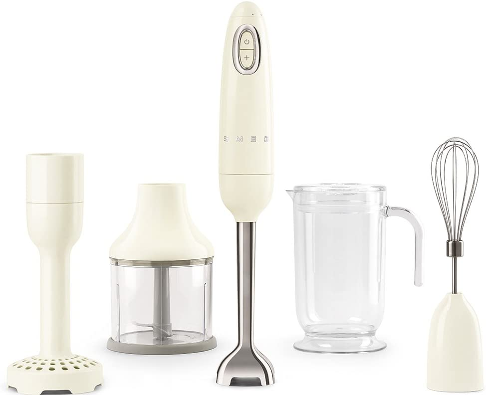 Smeg HBF02CRUS Hand Blender, One Size, Cream