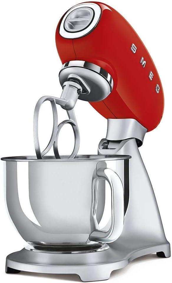 Smeg SMF02RDEU robot de cocina, Acero Inoxidable: Amazon.es: Hogar