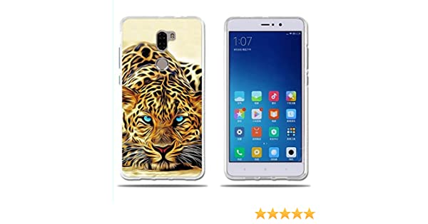 FUBAODA Funda para Xiaomi Mi5S Plus Exótico Dibujo de un Leopardo ...