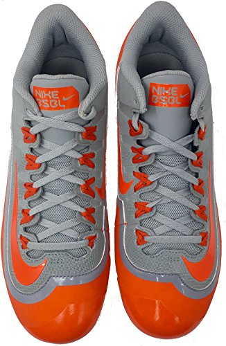 Nike Mens Huarache 2kfilth Keystone Mid Tacchetta Da Baseball Sport Rosso / Nero / Argento Metallizzato / Bianco