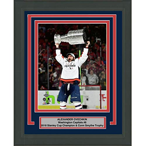 - Framed Alexander Alex Ovechkin Washington Capitals Team 2018 Stanley Cup Champions 8x10 Hockey Photo Professionally Matted #1