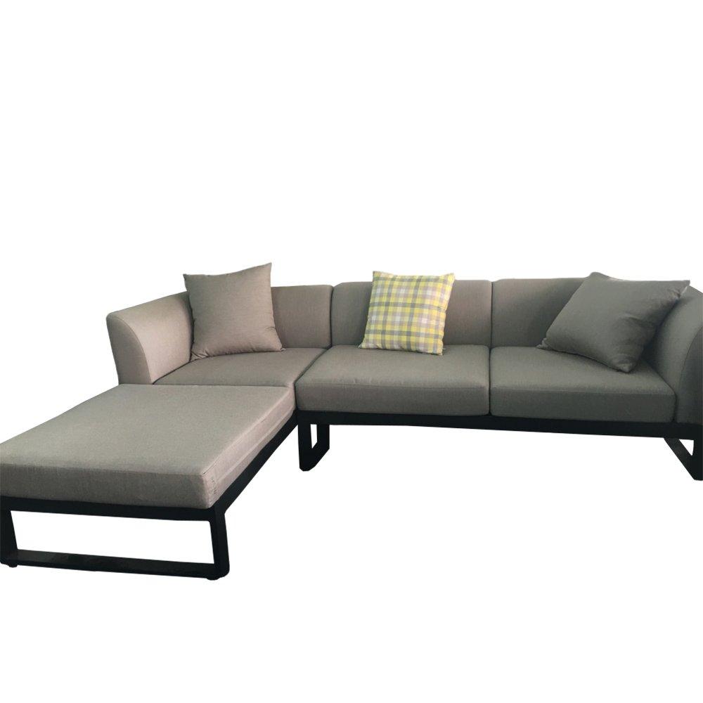 Stern Sitzgarnituren-Set 2x Zwei-Sitzer Lounge-Element Arturo mit Armlehne links - Aussteller