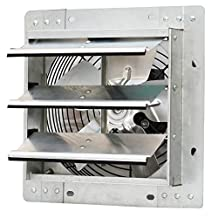 """iLIVING ILG8SF10V Wall-Mounted Variable Speed Shutter Exhaust Fan, 10"""""""