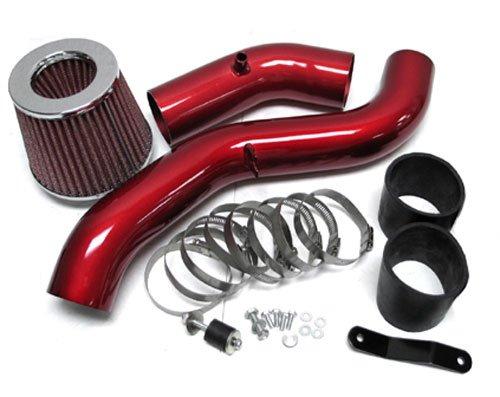 04-06 Nissan Altima V6 3.5L Cold Air Intake System Kit Red