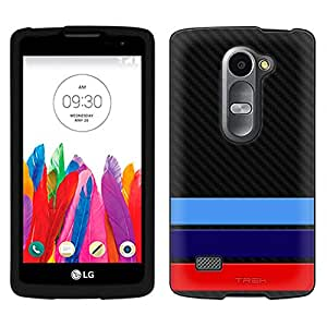 LG Tribute 2 Case, Snap On Cover by Trek M Carbon Case