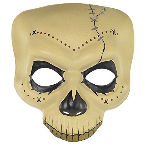 Amscan Witch Doctor Skull Mask ()