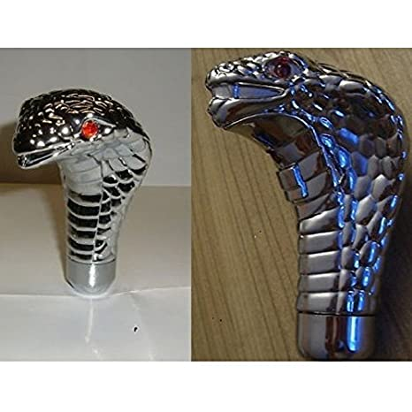 hotrodspirit - Palanca de velocidad serpiente Cobra plástico cromado Universal: Amazon.es: Coche y moto