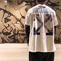 8e7f4810 off-White Oil Painting T-Shirt Fashion Tee Unisex Short Sleeve For Men and.  Loading Images.