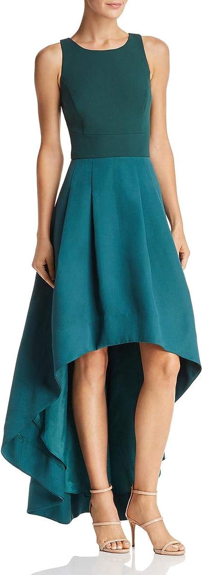Eliza J Damen Sleeveless Open Back High Low Gown Formales Kleid ...