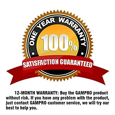 GAMPRO 12V 135db Air Horn, Dual Trumpet Air Horn with Compressor, Super Loud Powerful Train Sound Shiny for Any 12V Vehicles Trucks Lorrys Trains Boats Cars Van: Automotive