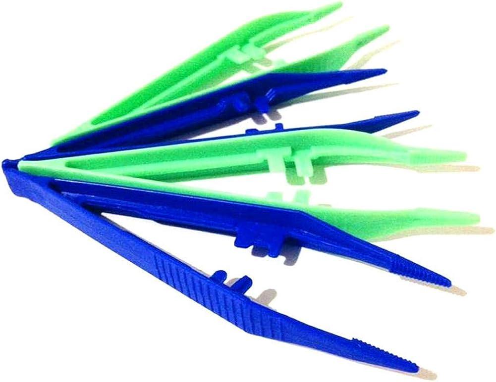 JUANYA 50/pcs Plastique Craft Pince /à /épiler pour Courroie DIY Perles Fabrication de Bijoux Craft Outil