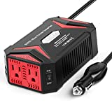 BESTEK Pure Sine Wave 300W Power Inverter DC 12V to AC 110V