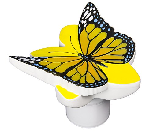 Cheap  Poolmaster Chlorine Dispenser for Swimming Pools and Spas, Yellow Butterfly