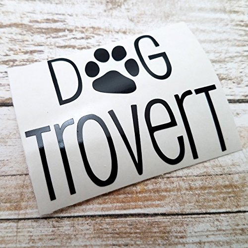 [Dogtrovert Decal Sticker for Dog Lovers for use on YETI RTIC Ozark Tumbler Mug Laptop] (Best Internet Meme Costumes)