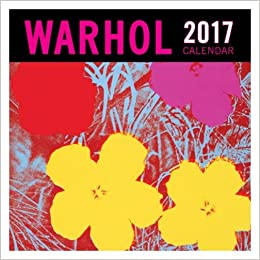 andy warhol 2017 wall calendar