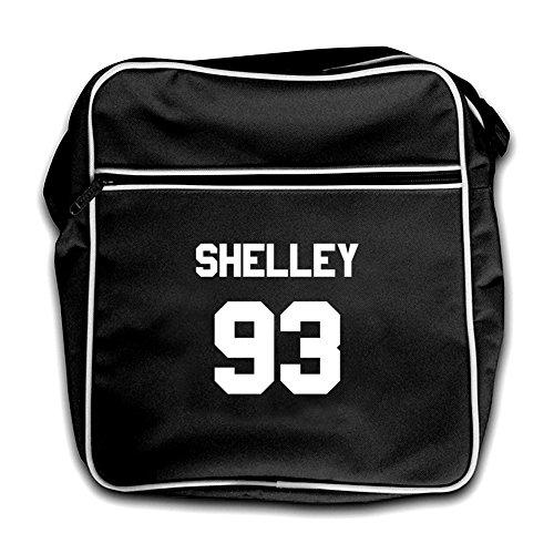 Black 93 Bag Red Flight Dressdown Retro Shelley TwFzvz