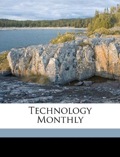 Technology Monthly Volume 3, no.8 pdf
