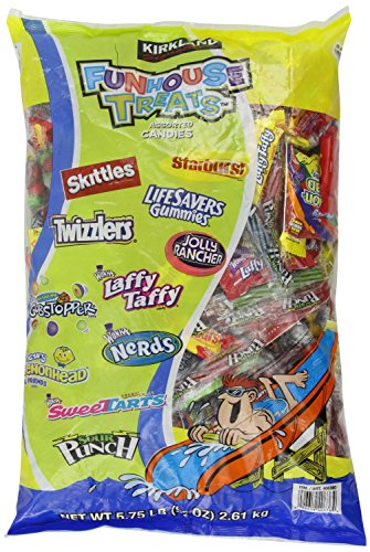 Assorted Candy Mix Funhouse Treats, Jumbo Pkg 184 Ounces Tot