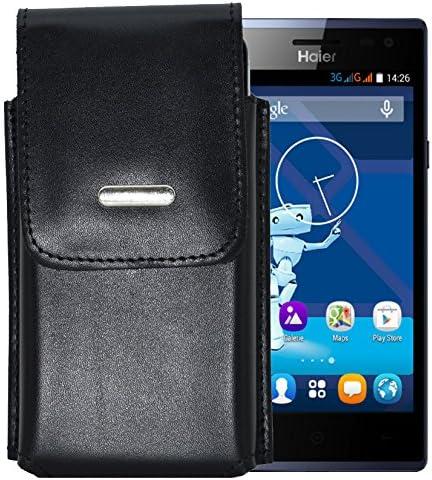 Vertical para/HAIER HaierPhone L50 4 G/teléfono Funda de diseño Vertical con sujeción para cinturón en la parte trasera: Amazon.es: Electrónica