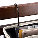 BTSKY Bedside Caddy, Hanging Organizer Bag Holder