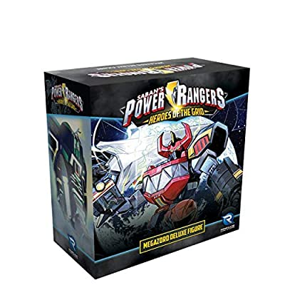 Renegade Game Studios Power Rangers: Heroes of The Grid Megazord Deluxe Figure: Toys & Games