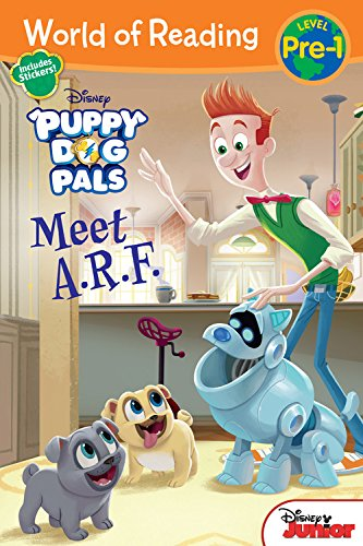 World of Reading: Puppy Dog Pals Meet A.R.F. (World of Reading: Level Pre-1)