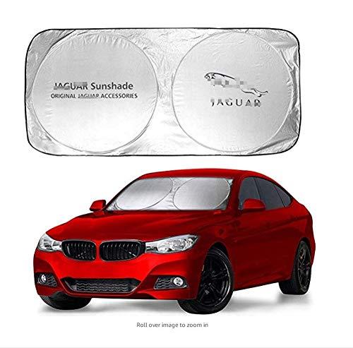 Ephvan 150X70cm Car Window Sun Shade Car Windshield Visor Cover Block Front Window Sunshade UV Protect Car Window Film (fit ()