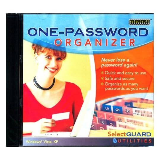 SelectGuard One-Password Organizer