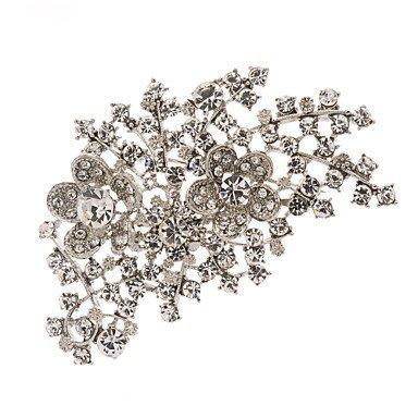 nuovo arrivo 9150c d1320 LIN@G partito fiore spilla di strass spille gioiello spiedo ...