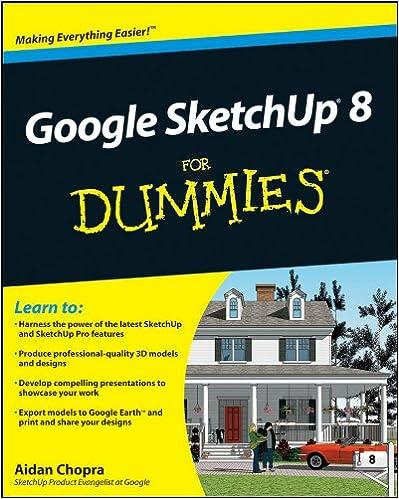 Amazon Com Google Sketchup 8 For Dummies Ebook Chopra Aidan Kindle Store