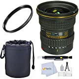 Tokina 11-16mm f/2.8 AT-X116 Pro DX II Digital Zoom Lens (for Canon EOS Cameras) - International Version (No Warranty) + 77mm UV Filter + Lens Cleaning Pen + Lens Pouch and more
