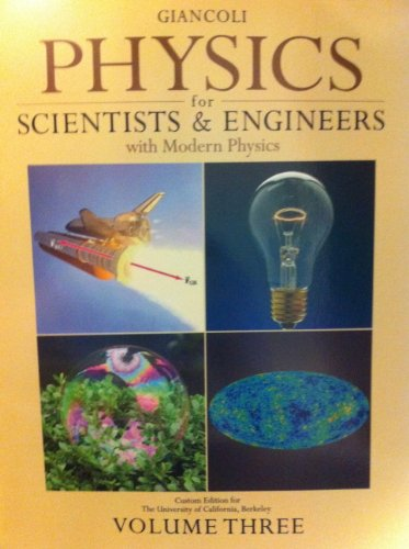 Physics For Scientists & Engineers W/Mod Vol 3 >Custom<