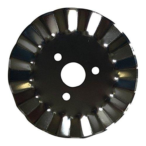 Rotary Cutter Waved Edge Blades 45mm 5-Pack - Fits Fiskars, Olfa ()