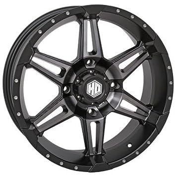 Amazon Com 4156 Sti Hd7 Alloy Wheel 14x7 4 0 3 0 Matte Black