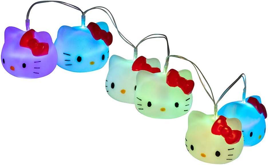TEKNOFUN 811316 Hello Kitty Fairy Lights, White