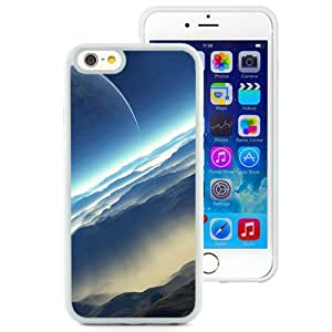Blue Space Landscape (2) Durable High Quality iPhone 6 4.7 Inch TPU Case