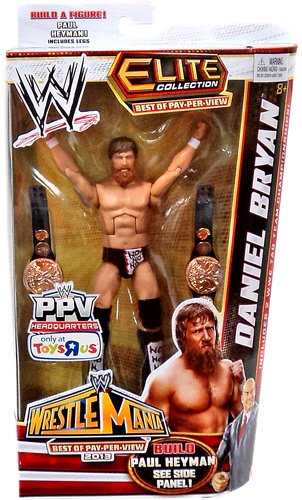 WWE Elite Collection Exclusive Best of Pay-Per-View 2013 Daniel Bryan Action Figure (Build Paul Heyman)