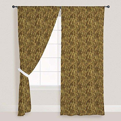 ArtzFolio Bamboo Art Door & Window Curtain Canvas 4feet x 9feet; SINGLE PIECE