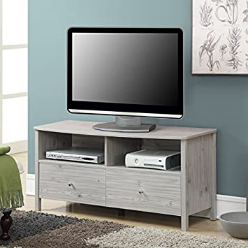 convenience concepts designs2go westport tv stand silver oak