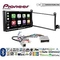 Volunteer Audio Pioneer AVH-W4400NEX Double Din Radio Install Kit with Wireless Apple CarPlay, Android Auto, Bluetooth Fits 2003-2011 Town Car